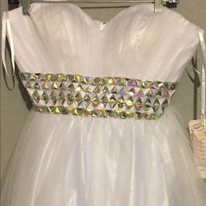 Two beautiful prom dresses